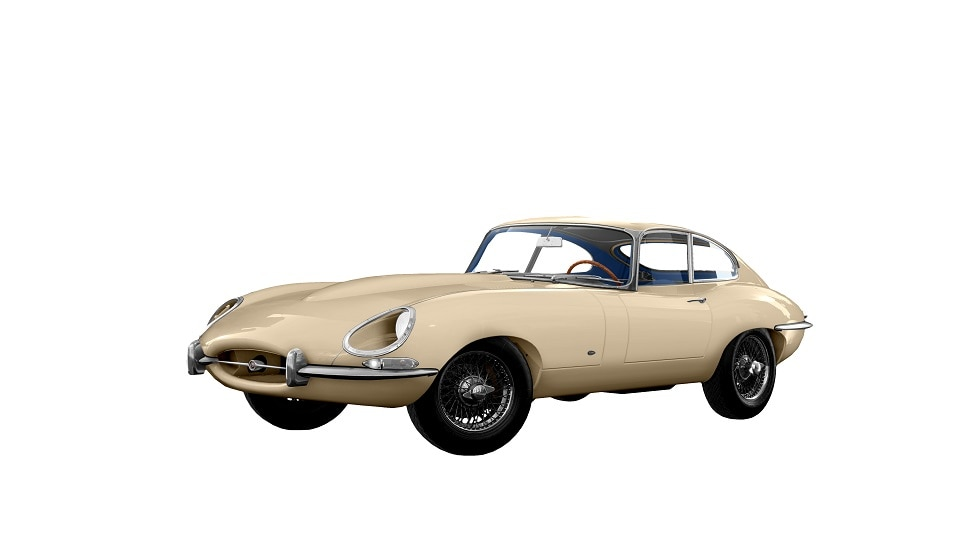 TC2 JAGUAR E TYPE COUPE