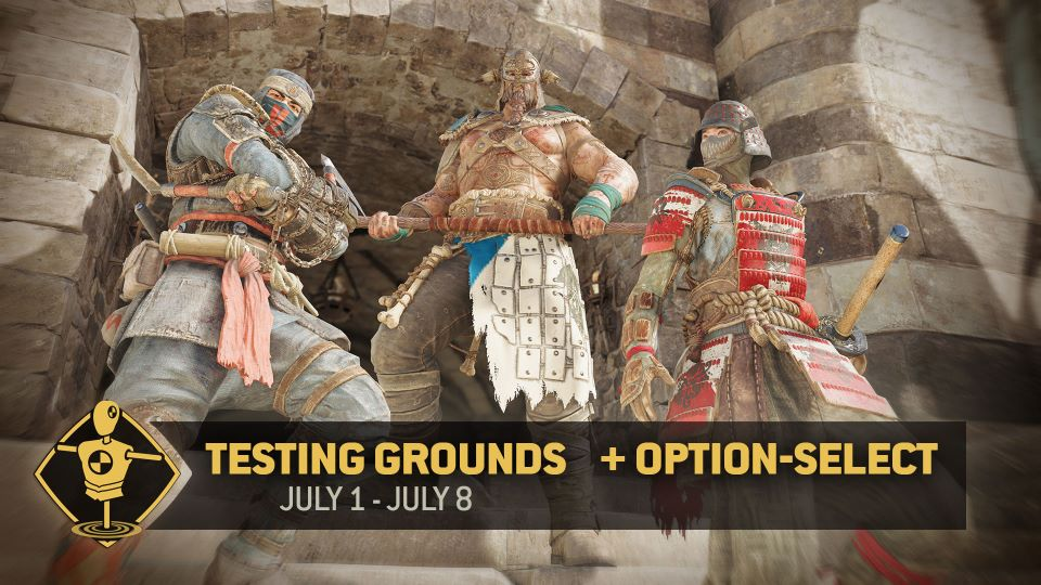 Testing Grounds - July 1-8