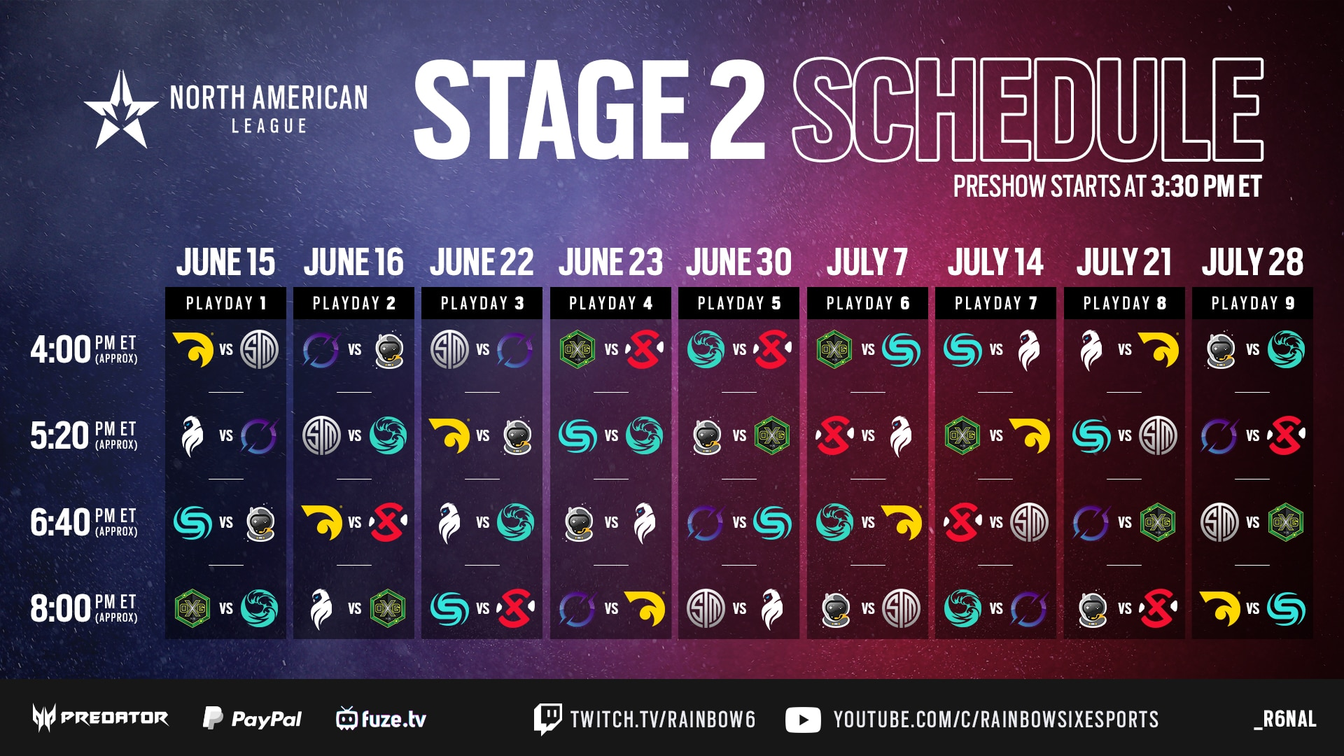 r6 nal stage 2