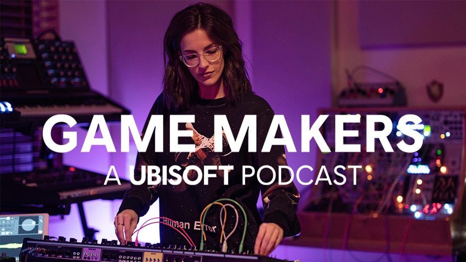 Game Makers Podcast – Sarah Schachner on Music of ACV - Thumbnail