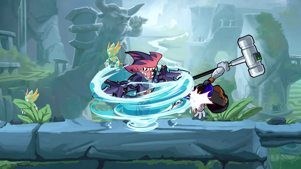 [UN] [News] Brawlhalla – New Legend, Mako the Shark, Out Now - hammerhead