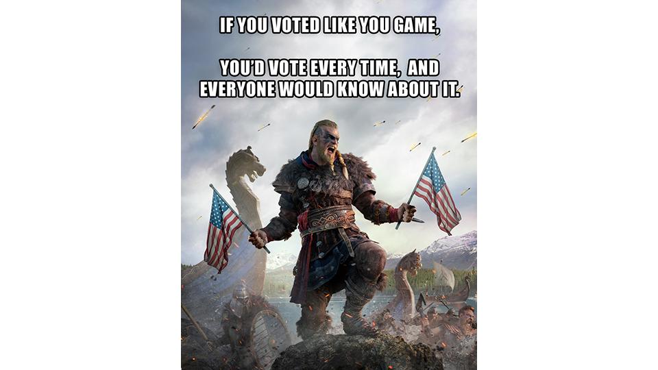 Ubisoft Launches #VoteLikeYouGame Campaign - Image 1