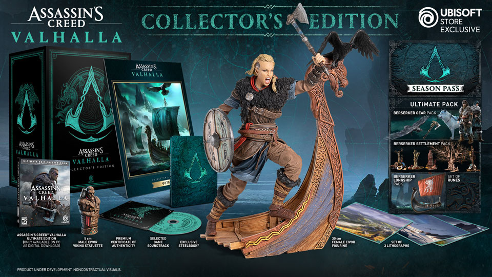 First Look – Assassin's Creed Valhalla Collector's Edition - Image 1