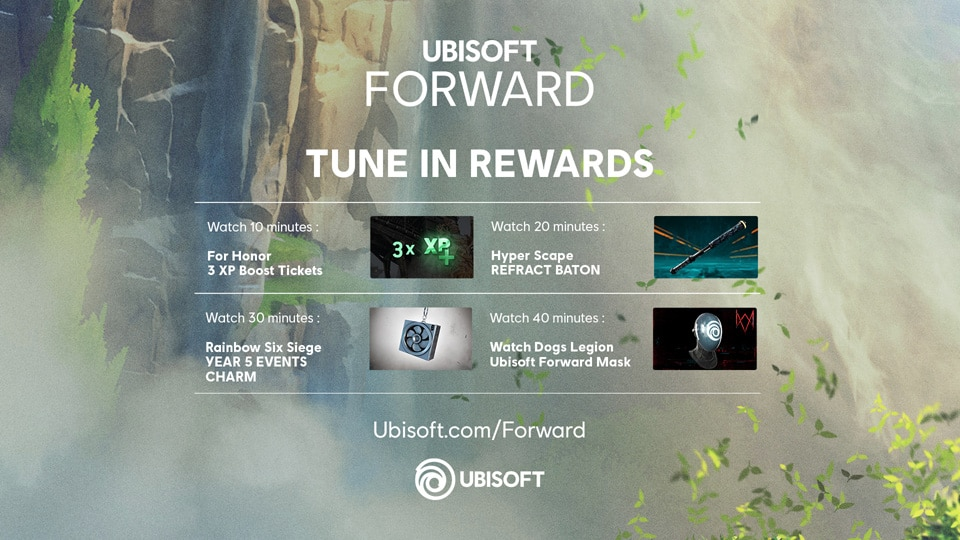 [UN][News] Ubisoft Forward 2  – Tune-in Article - Drop Rewards