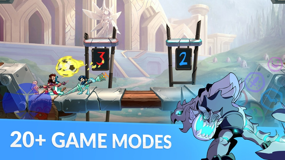 Brawlhalla 20 game modes