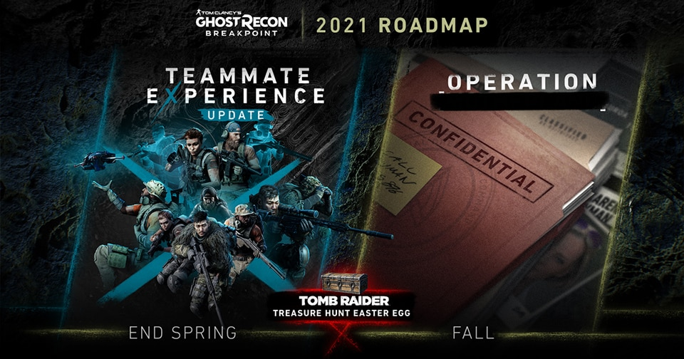Tom Clancy's Ghost Recon Breakpoint: 2021 Content Roadmap - Image 1