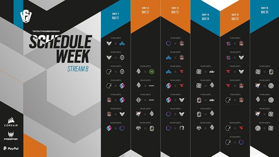 SI 2021 Schedule