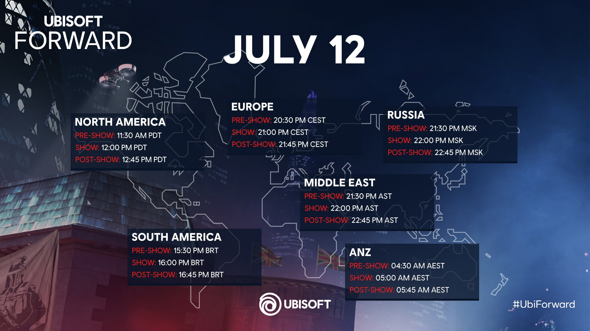 [UN][News] Ubisoft Forward – Everything You Need To Know - Schedule