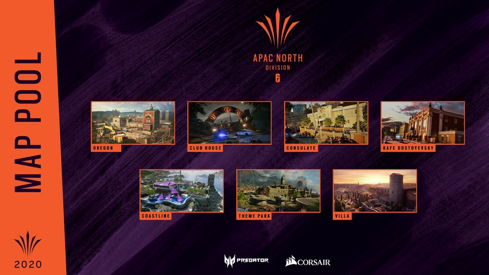 APAC NORTH MAP POOL