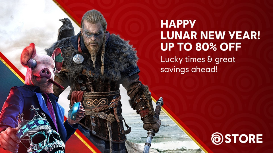 Lunar New Year Sale 2021 Ubisoft Store Artwork