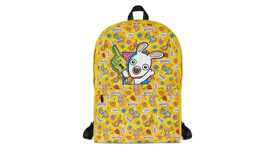 [UN] [News] Gear Up for School with Ubisoft Merch - Rabbids-Number-One-Backpack