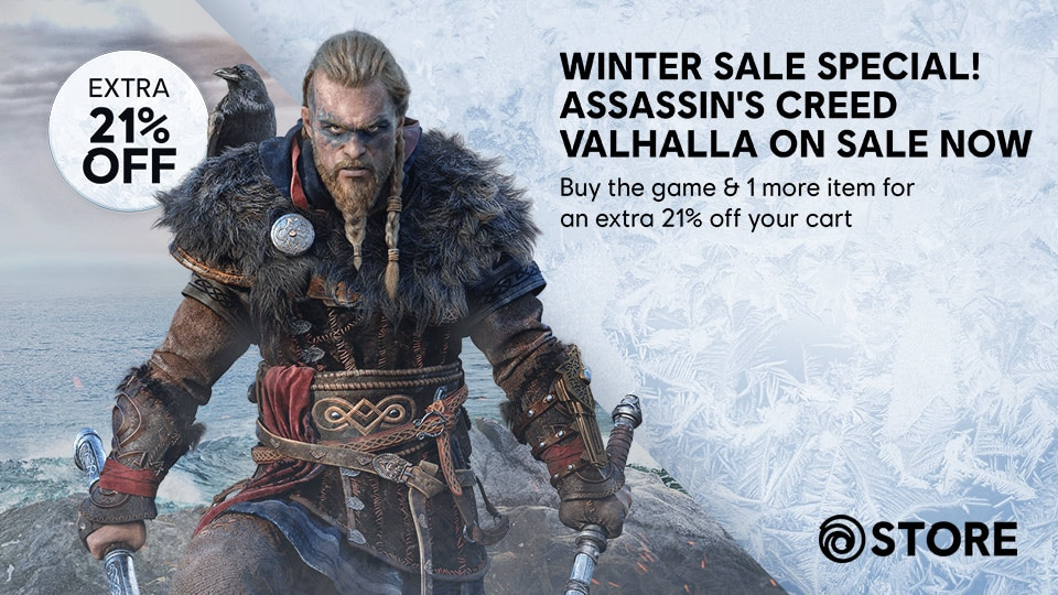 Ubisoft Store Assassins Creed Valhalla Winter Sale Thumbnail Image