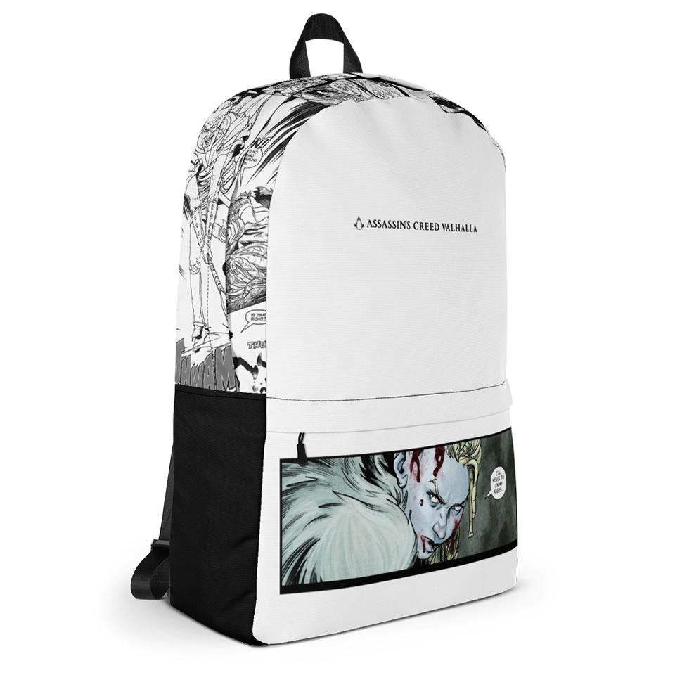 [UN] [News] Official Assassin's Creed Valhalla Merchandise Now Available - Valhalla Comic Backpack