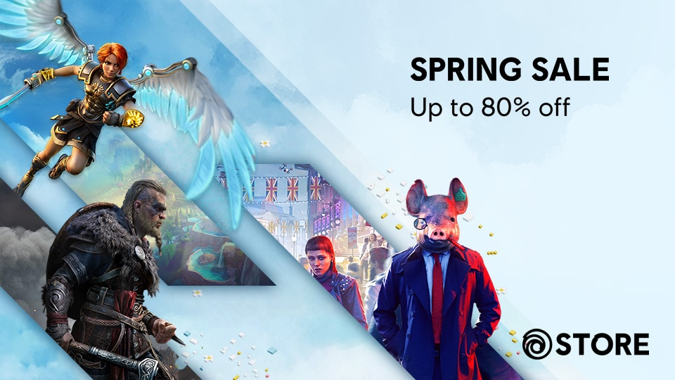 [UN][News][STORE] Save Up to 80% during the Ubisoft Spring Sale - THUMBNAIL