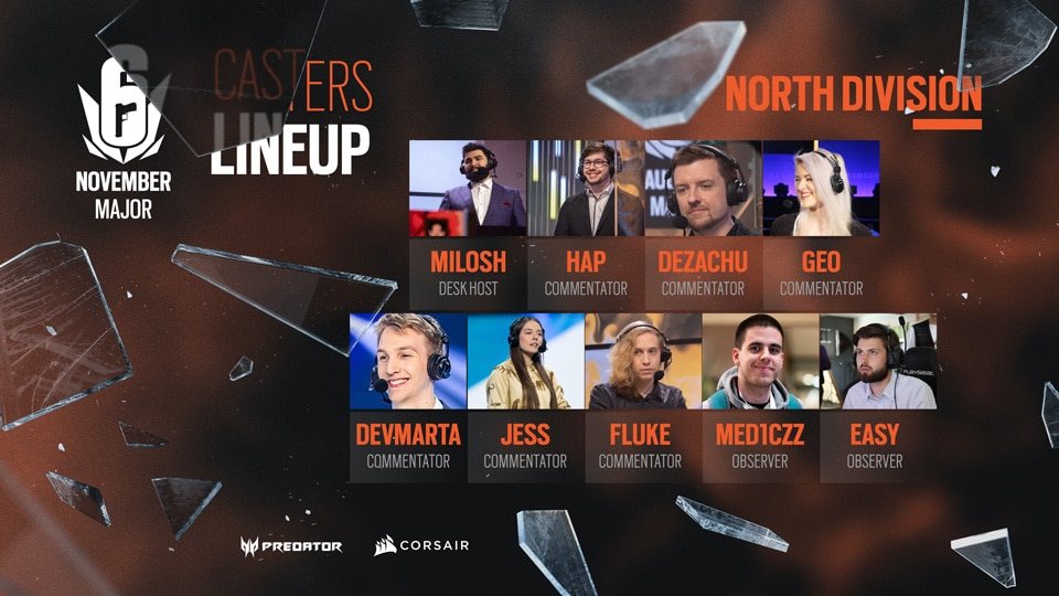 ASSETS CASTERS LINEUP NORTH
