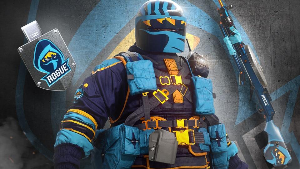 R6share Teams skins rogue