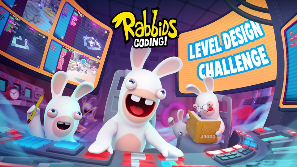 Rabbids Coding Adds Winning Design-Competition Levels and New Languages - Image 2