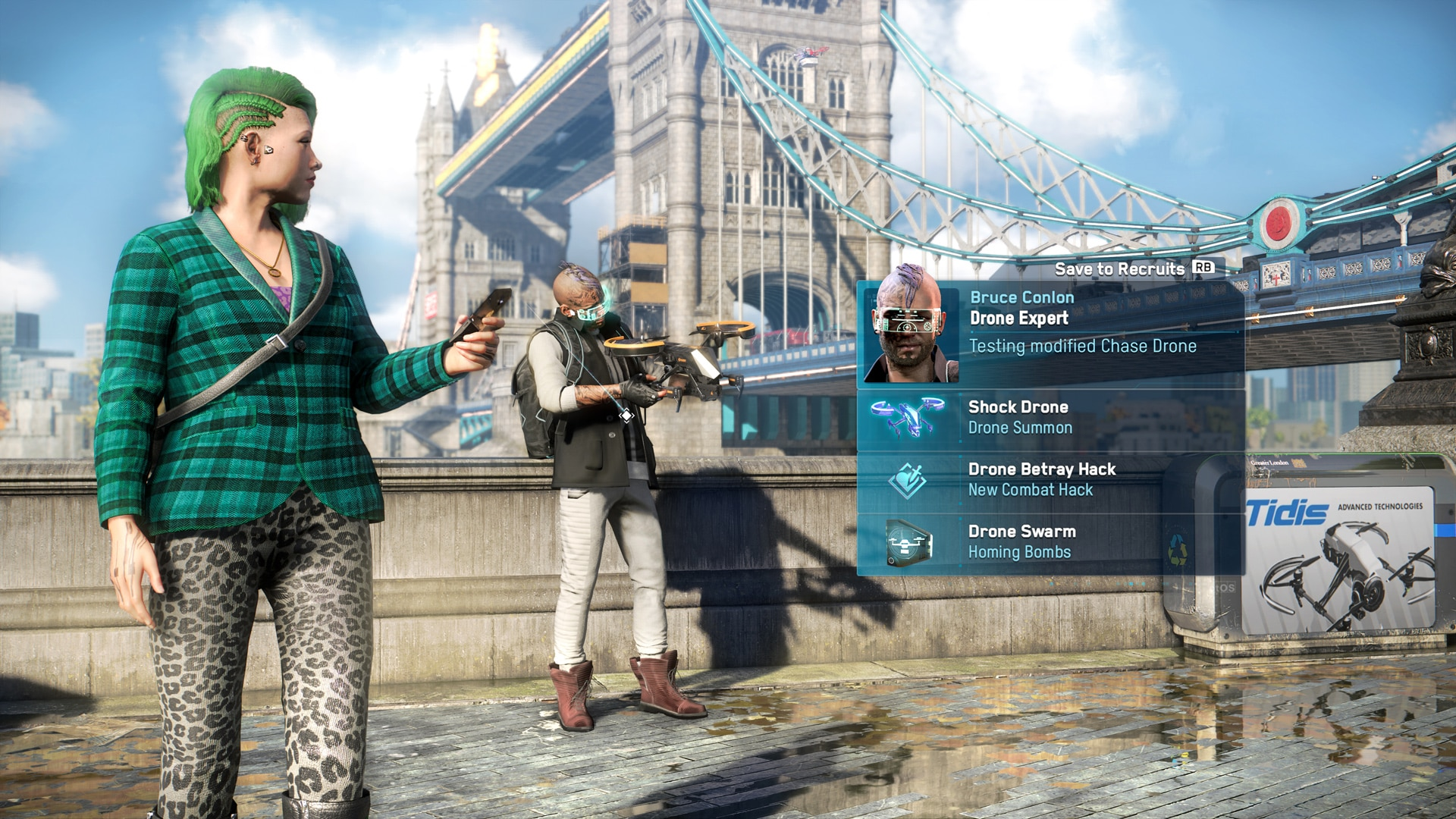 [UN][News] Watch Dogs: Legion – Hands-On With Cargo Drones, Recruitable Enemies, and a Revamped DedSec - Profiler DroneExpert-1920x1080