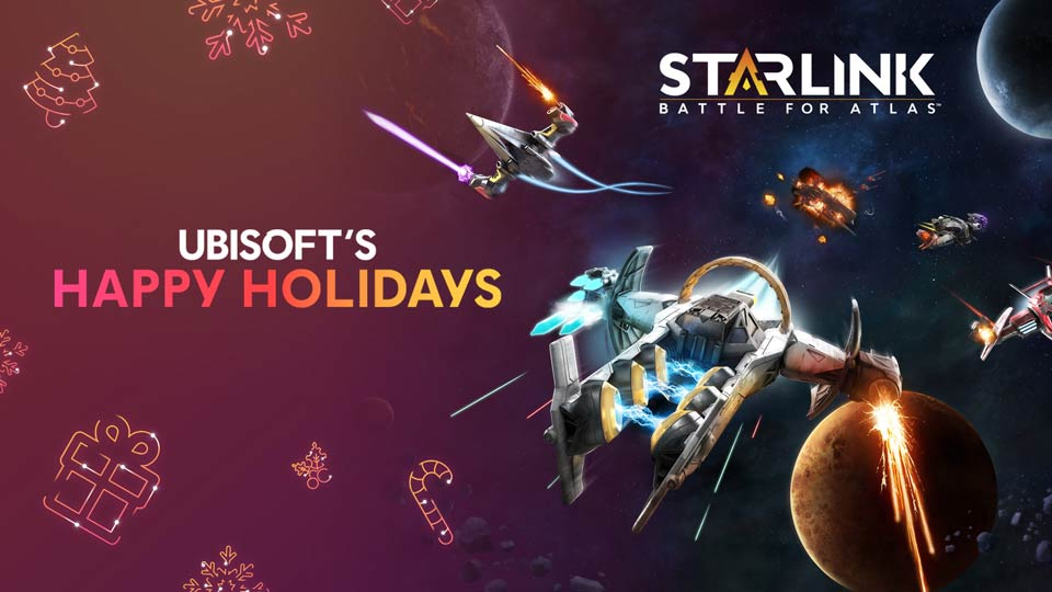 Happy Holidays Gifts from Starlink