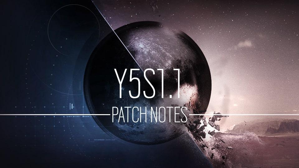 Y5S1.1 更新记录