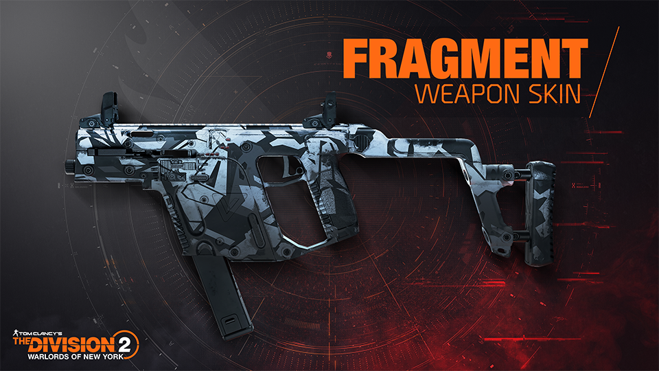 [TCTD2] Fragment Weapon Skin