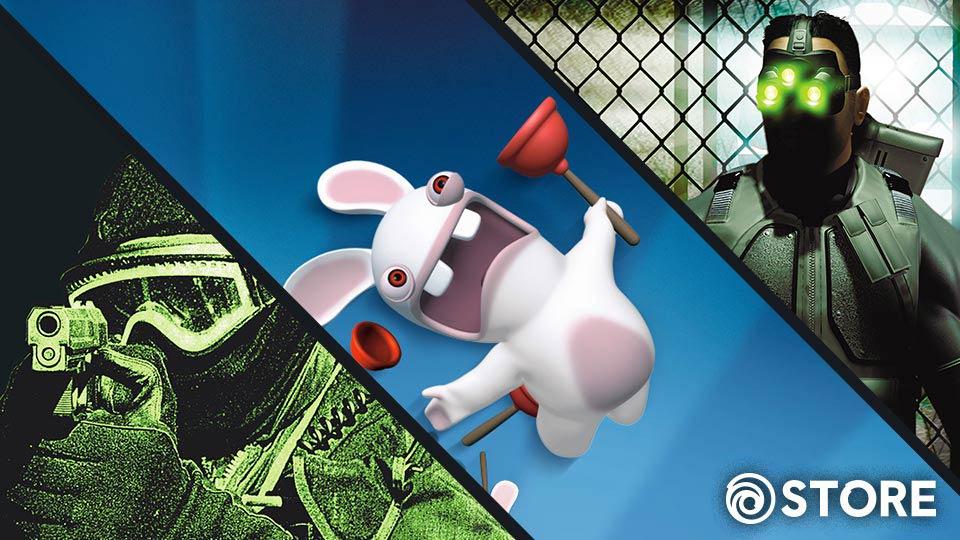 Ubisoft Classic Games Artwork