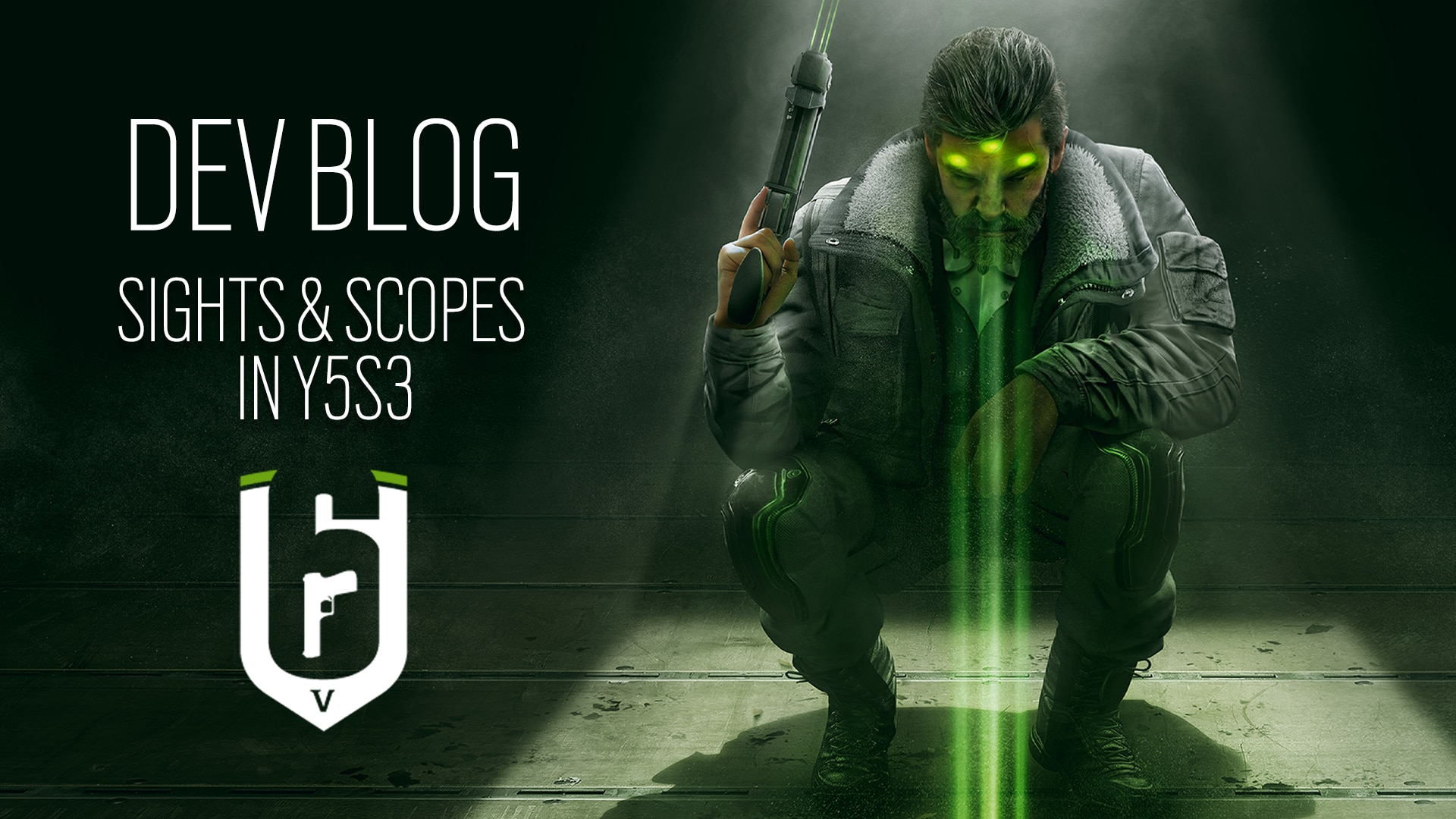 [R6S] Dev Blog Sights & Scopes Header