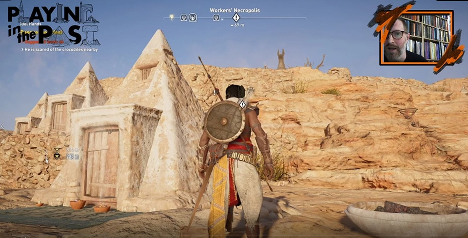 [UN] [News] Why Three Egyptologists Are Teaching History Through Assassin's Creed Origins - PITP1 3
