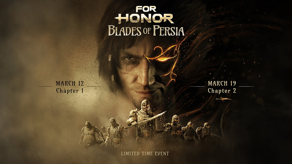 [UN] [News] For Honor and Prince of Persia Collide in Blades of Persia Limited-Time Event - Keyart