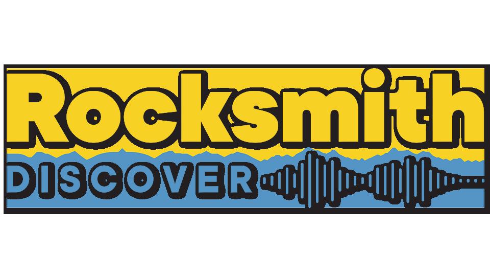 Rocksmith Discover logo, header for announce