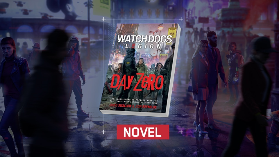 [WDL] [News] New Watch Dogs: Legion books available now - WDL novel in-article image