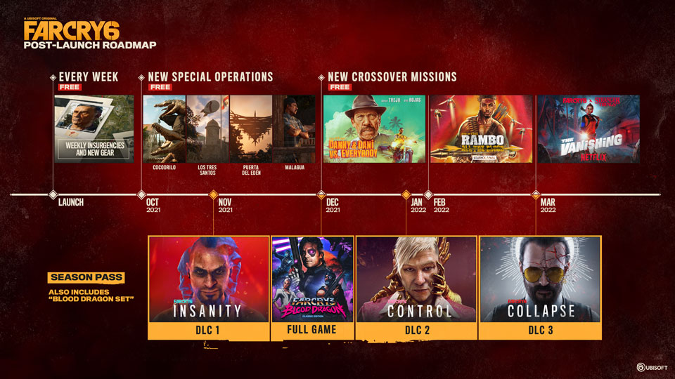 [UN][News] Far Cry 6 Post-Launch Plans Revealed - KEYART