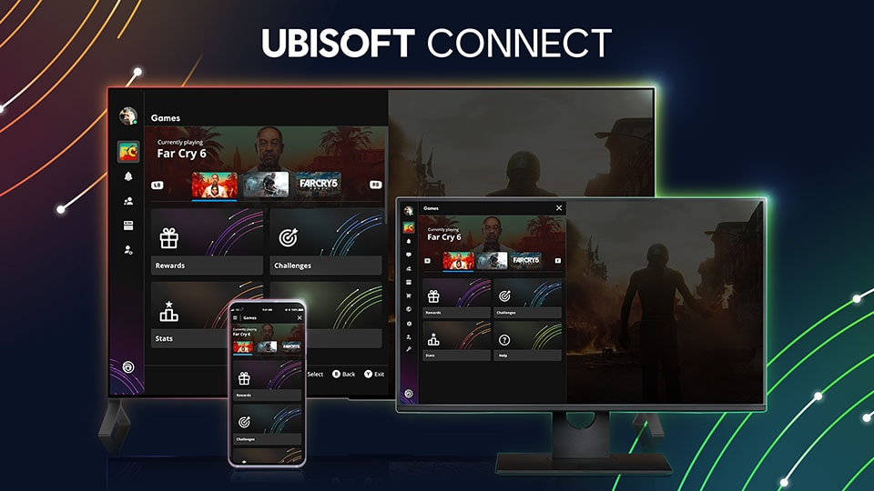 Ubisoft Connect One Year Anniversary + Share Play (keyart)