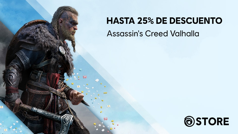 [UN][News][STORE] Up to 25% off Assassin's Creed Valhalla for our Spring Sale! - THUMBNAIL