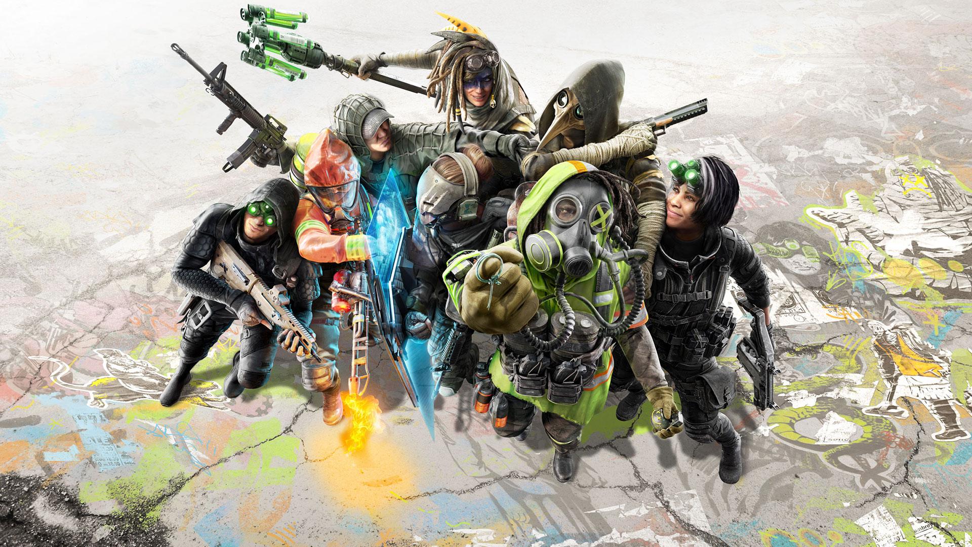 Únete a la fiesta y forma equipo en un choque de universos, en Tom Clancy's XDefiant