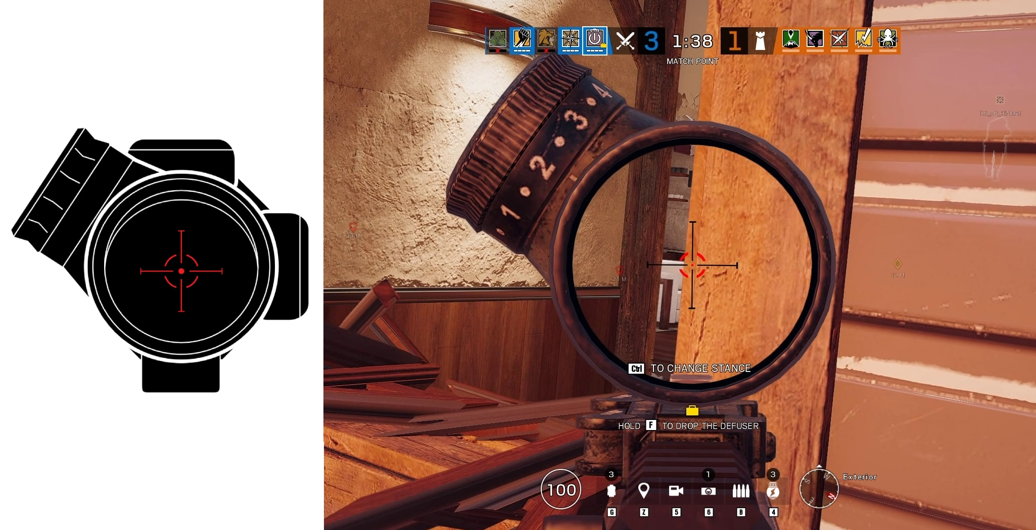 [R6S] Y5S3 New Scope 2.0x