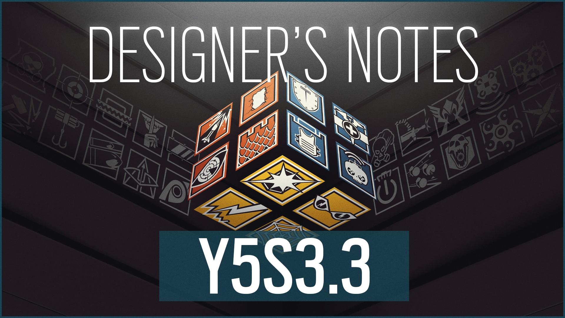 [R6S] Y5S3.3 Designer's Notes Header