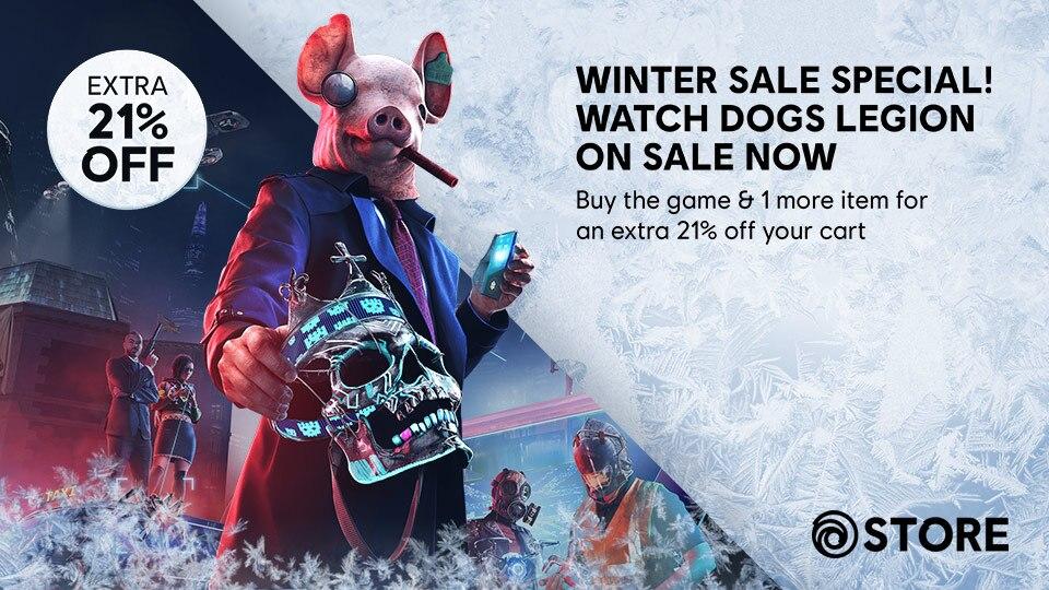 Ubisoft Store Watch Dogs Legion Winter Sale Thumbnail Image