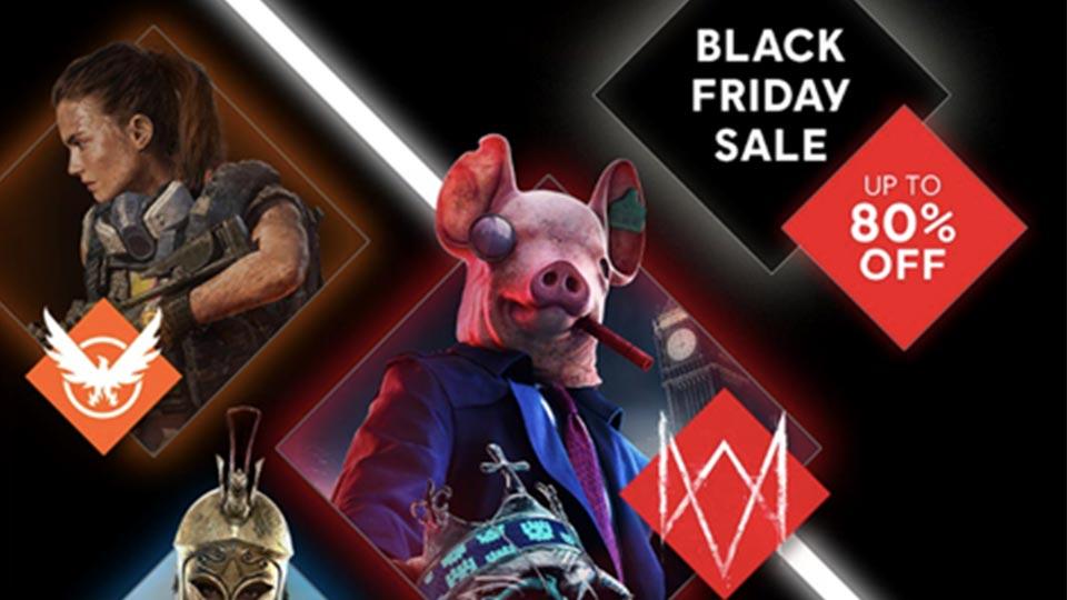 Ubisoft Store Black Friday Sale News Thumbnail Image