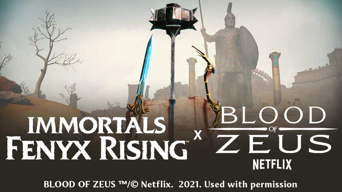 Immortals Fenyx Rising Teams Up With Neflix's 'Blood of Zeus' - Image 1