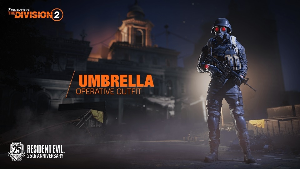 TCTD2 Umbrella Operative Outfit LOGO