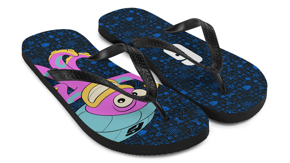 [R6S] [News] Don't Miss these Summer Items from the Six Collection - Octopus Flip Flops