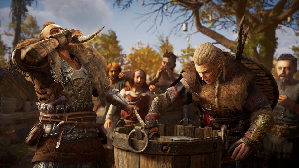 [UN] [News] Assassin's Creed Valhalla – Forge Alliances, Build a Village, and Be a Kingmaker - ACV Drinking Contest