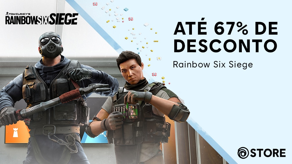 [R6S][News][STORE] Up to 67% off Rainbow Six Siege for our Spring Sale!