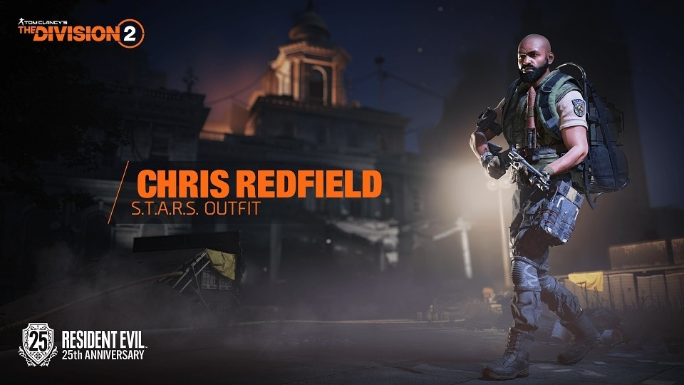 TCTD2 Chris Redfield Outfit+LOGO