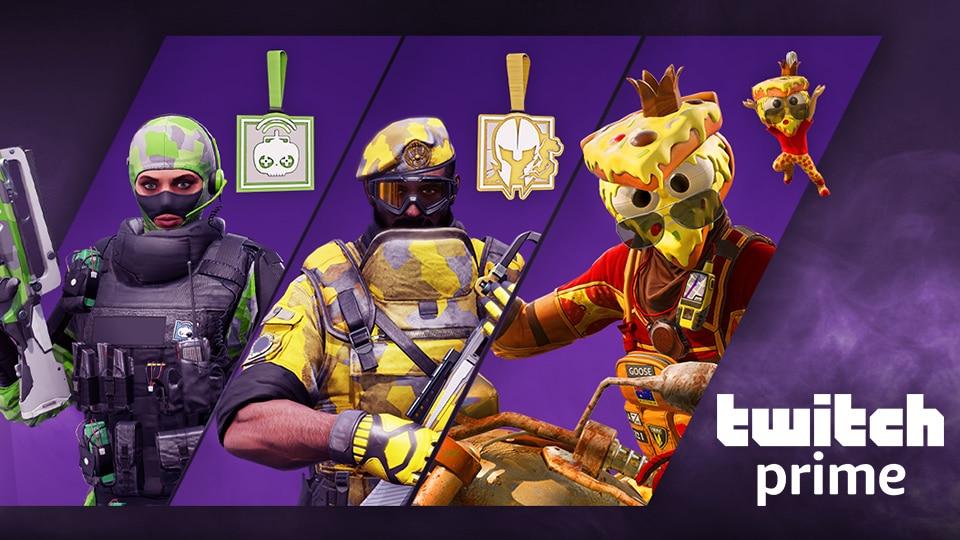 Twitch Prime - Pizza