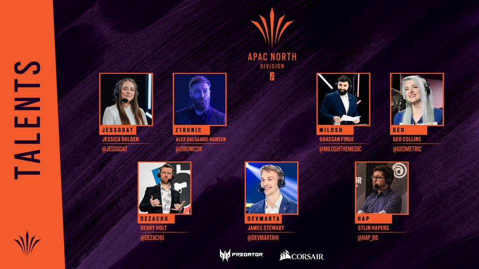 [R6SE] News - APAC North Talents