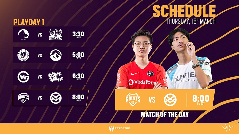 APAC SOUTH SCHEDULE 1 mini