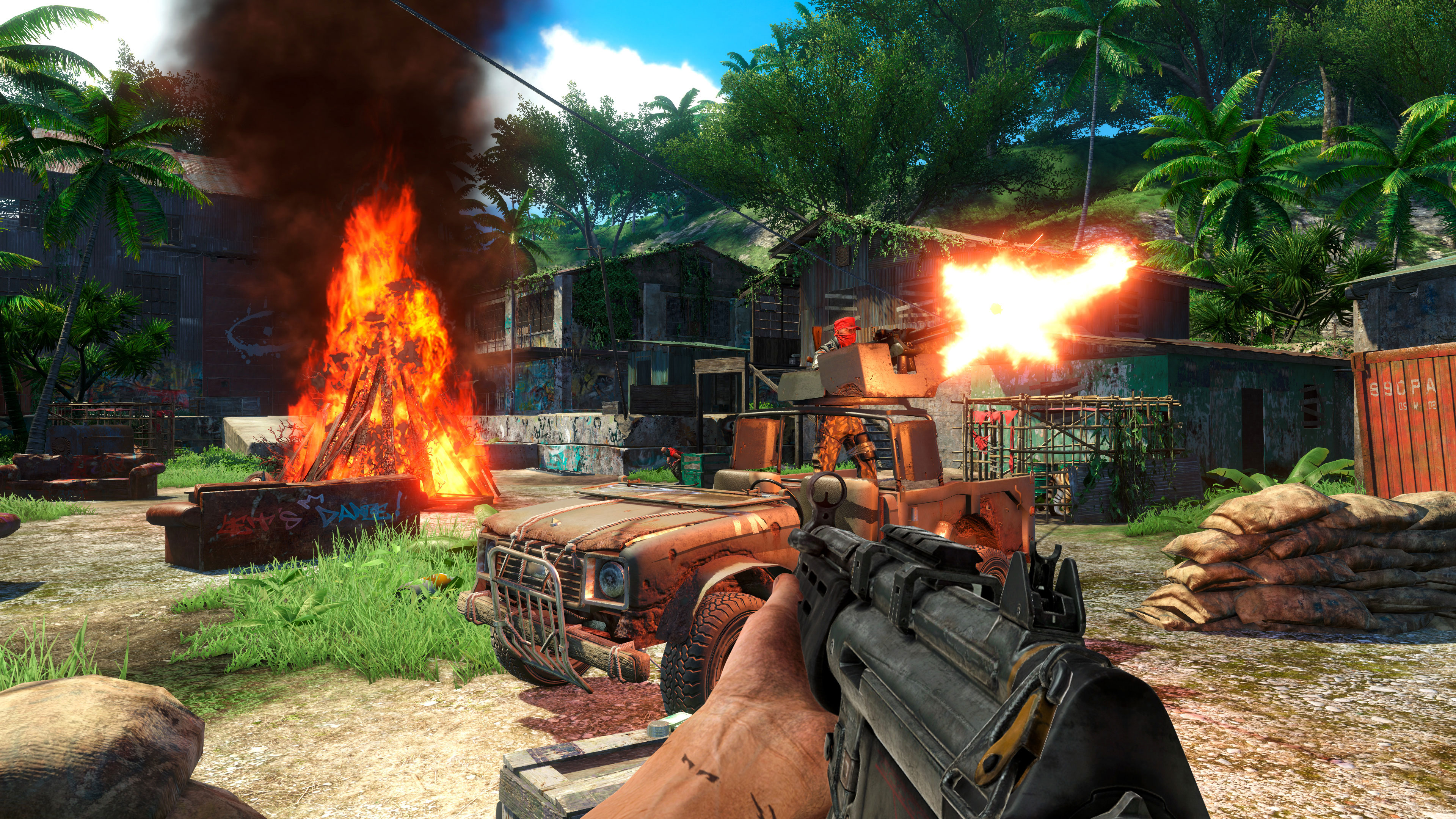 Game incursion – Far Cry 3