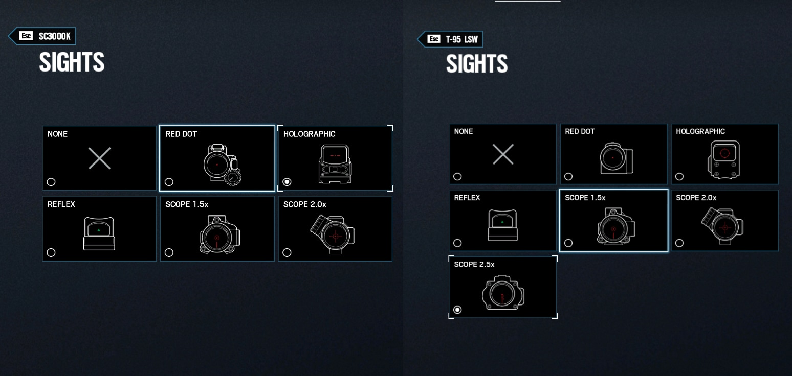 [R6S] Y5S3 Selection Menu